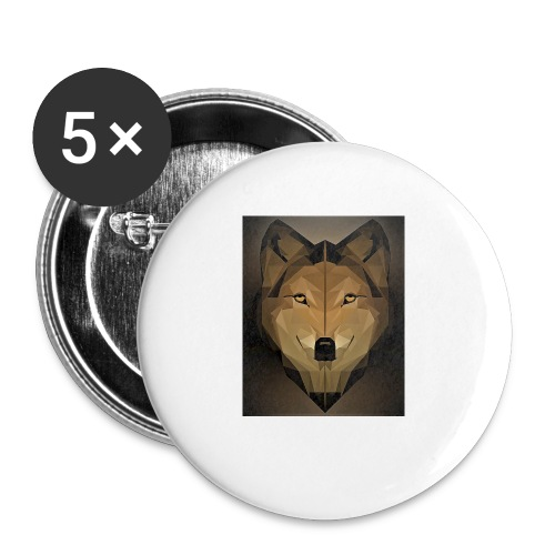 KY O - Buttons small 1''/25 mm (5-pack)