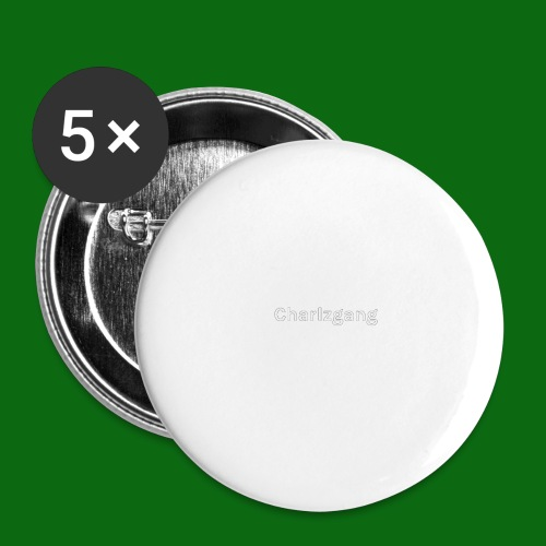 Charlzgang - Buttons small 1''/25 mm (5-pack)