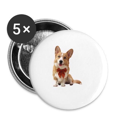 Bowtie Topi - Buttons small 1''/25 mm (5-pack)