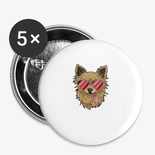 Cool Engla - Små knappar 25 mm (5-pack)