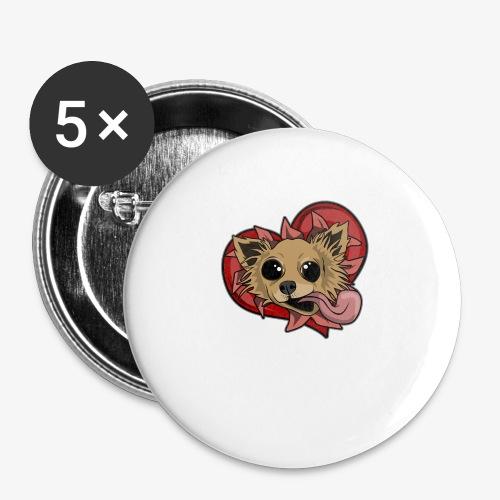 Engla - Små knappar 25 mm (5-pack)