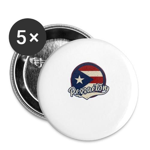Reggaeton Music - Puerto Rico - Buttons klein 25 mm