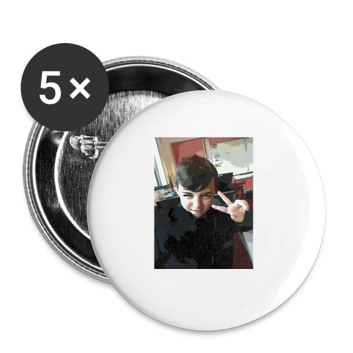 Aaron - Buttons small 1''/25 mm (5-pack)