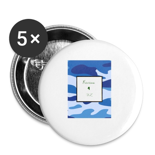 My channel - Buttons small 1''/25 mm (5-pack)