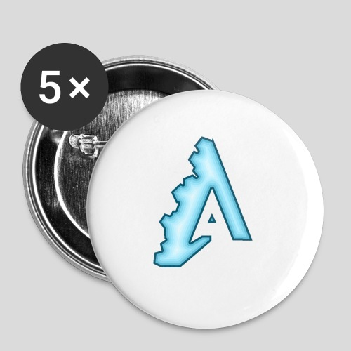 AttiS - Buttons small 1''/25 mm (5-pack)