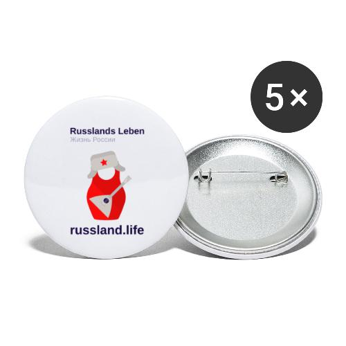russland.LIFE Edition - Buttons small 1''/25 mm (5-pack)