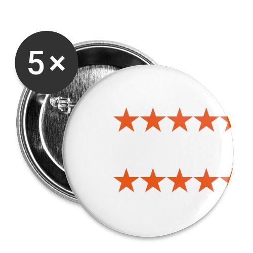 ratingstars - Rintamerkit pienet 25 mm (5kpl pakkauksessa)