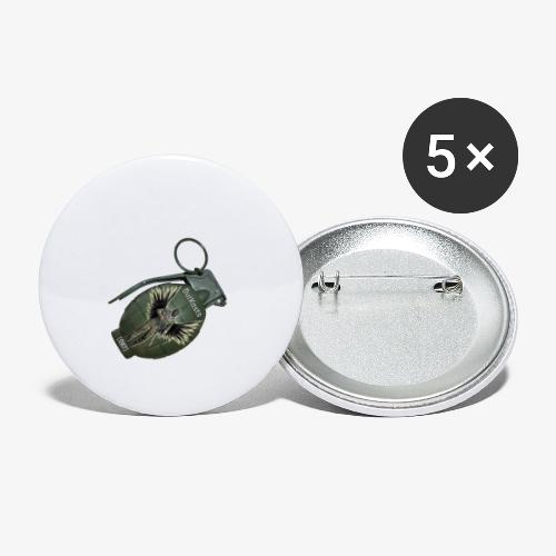 OutKasts Grenade Side - Buttons small 1''/25 mm (5-pack)