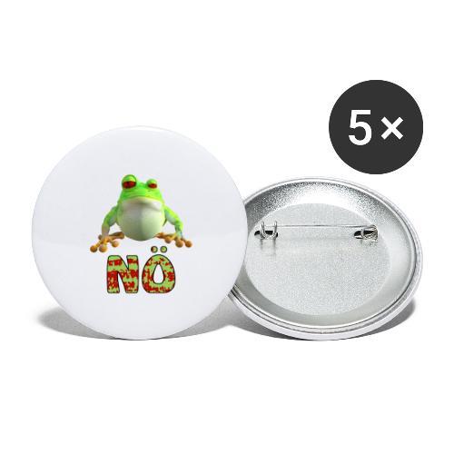 nö - Buttons klein 25 mm (5er Pack)