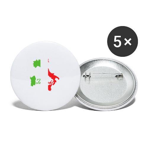 Tedeschi italie - Lot de 5 petits badges (25 mm)