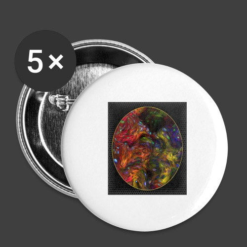 Who will arrive first - Buttons small 1''/25 mm (5-pack)