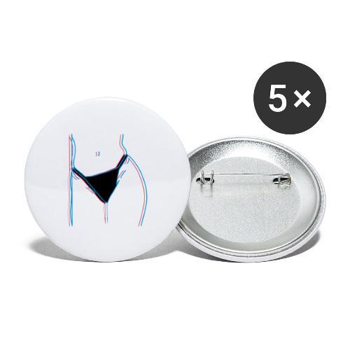 chubby love - Små knappar 25 mm (5-pack)