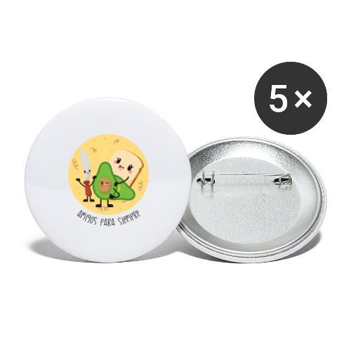 Amigos para siempre 2 - Paquete de 5 chapas pequeñas (25 mm)