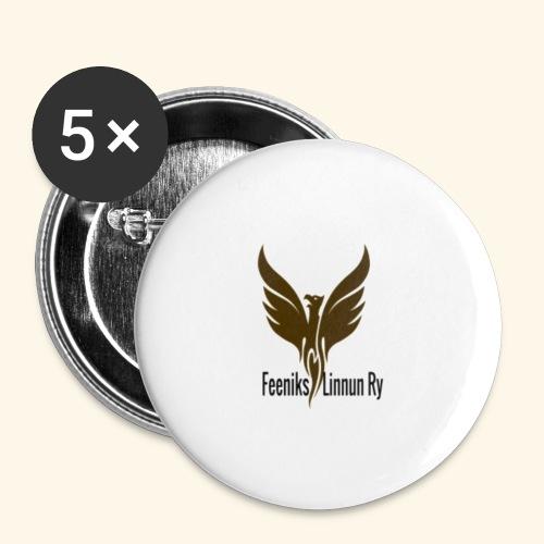feeniks logo - Rintamerkit pienet 25 mm (5kpl pakkauksessa)