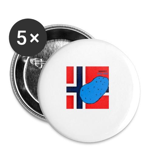 NorPot SAS ACE - Liten pin 25 mm (5-er pakke)