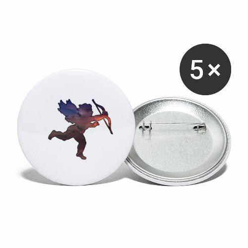 L'ange - J'peux pas j'suis un Ange - Lot de 5 petits badges (25 mm)