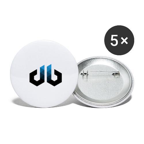 digitalbits Logo - Buttons klein 25 mm (5er Pack)