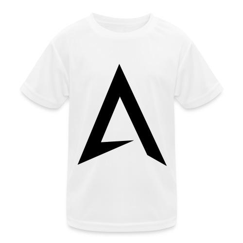 alpharock A logo - Kids Functional T-Shirt