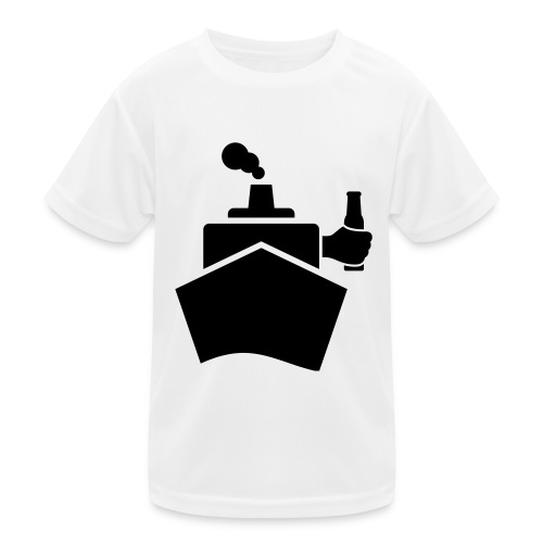 King of the boat - Kinder Funktions-T-Shirt
