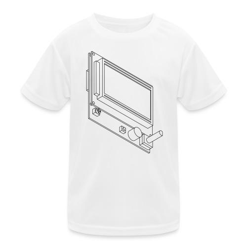 12864 Smart LCD (no text). - Kids Functional T-Shirt