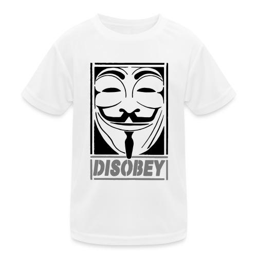 disobey - Funktionsshirt til børn