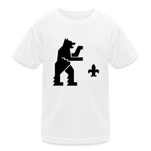 hemelogovektori - Lasten tekninen t-paita
