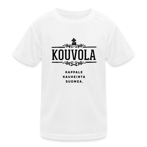 Kouvola - Kappale kauheinta Suomea. - Lasten tekninen t-paita
