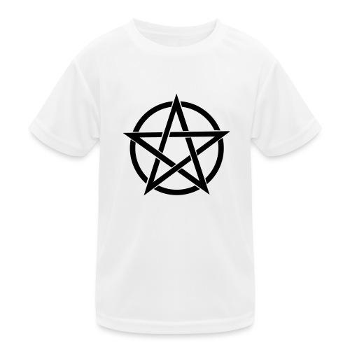 Pentagramme Wicca - T-shirt sport Enfant