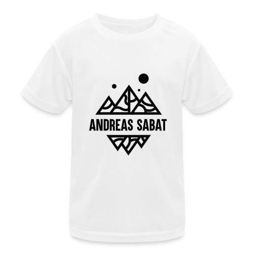 sabat logo black - Funktionsshirt til børn