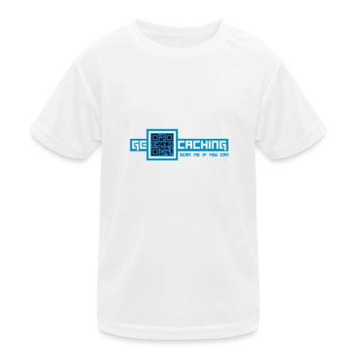 QRCode - 2colors - 2011 - Kinder Funktions-T-Shirt