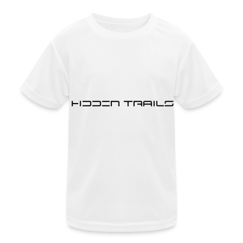 hidden trails - Kinder Funktions-T-Shirt