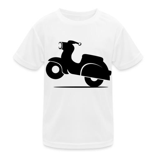 Schwalbe knautschig - Kinder Funktions-T-Shirt