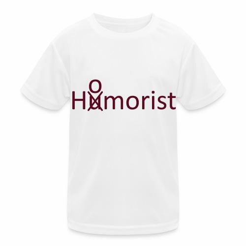 HuOmorist - Kinder Funktions-T-Shirt