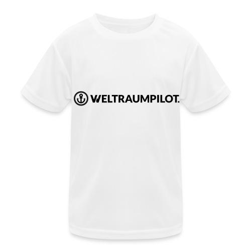 weltraumpilotquer - Kinder Funktions-T-Shirt