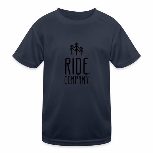 RIDE.company Logo - Kinder Funktions-T-Shirt