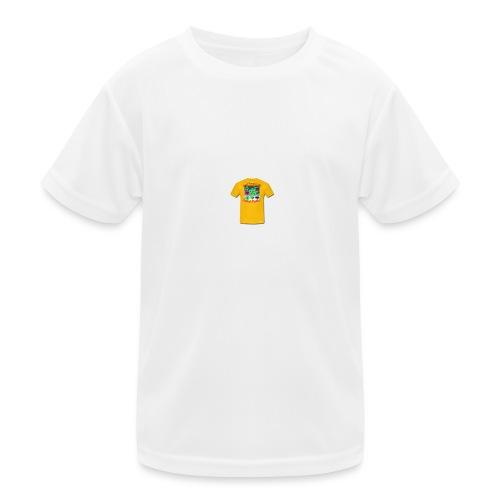 Castle design - Funktionsshirt til børn