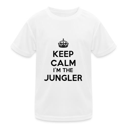 Keep calm I'm the Jungler - T-shirt sport Enfant