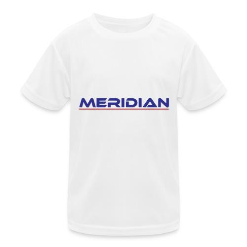 Meridian - Maglietta sportiva per bambini