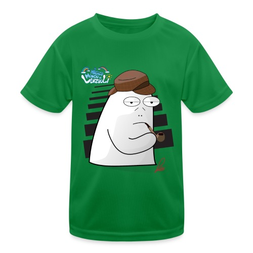Commissario Color - Maglietta sportiva per bambini
