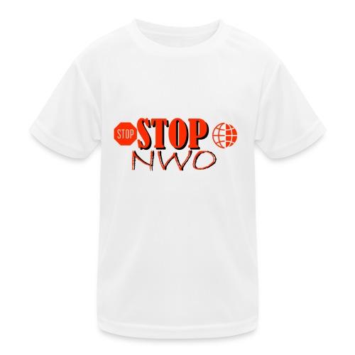 STOPNWO1 - Funkcjonalna koszulka dziecięca