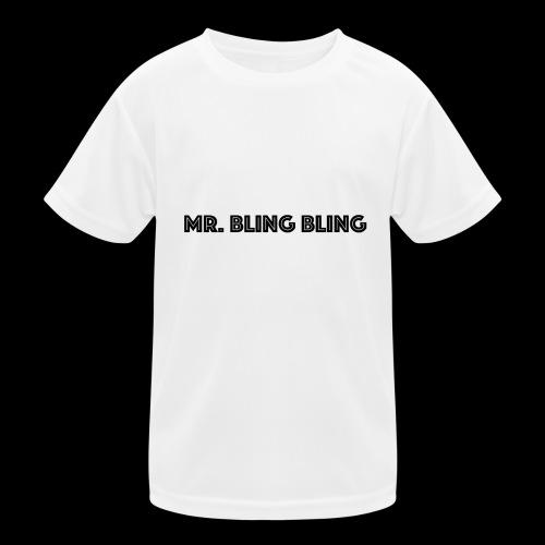 bling bling - Kinder Funktions-T-Shirt
