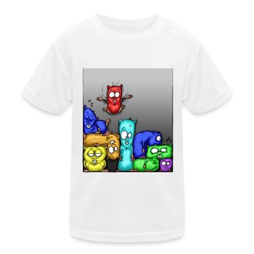 hamstris_farbe - Kinder Funktions-T-Shirt
