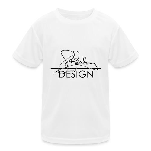 sasealey design logo png - Kids Functional T-Shirt
