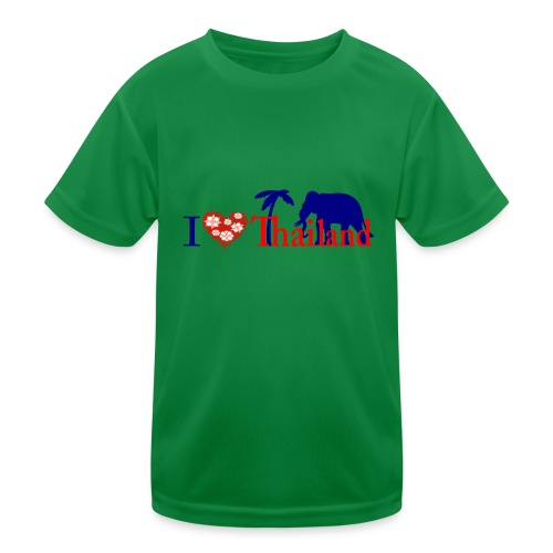 I love Thailand - Kids Functional T-Shirt