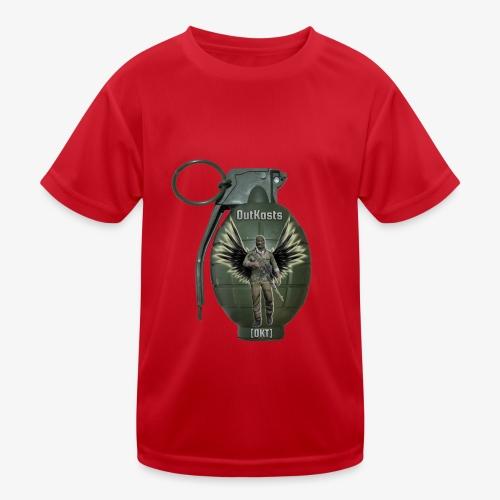 grenadearma3 png - Kids Functional T-Shirt