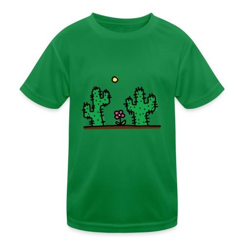 Cactus - Maglietta sportiva per bambini