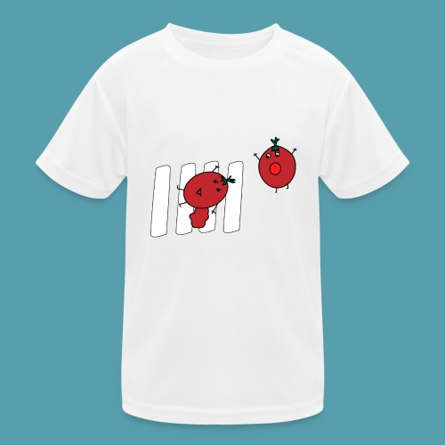 tomaatit - Lasten tekninen t-paita