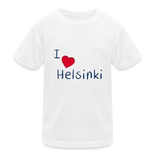 I Love Helsinki - Lasten tekninen t-paita