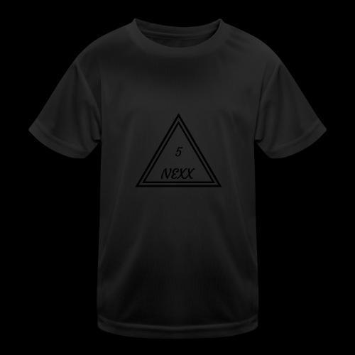 5nexx triangle - Functioneel T-shirt voor kinderen