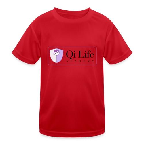 Qi Life Academy Promo Gear - Kids Functional T-Shirt